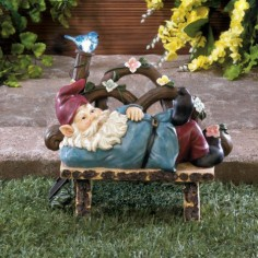 Solar Afternoon Nap Gnome